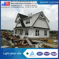 Prefabricted villa for family.prefab bungalow,prefabricated home
