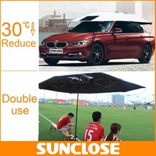 SUNCLOSE custom large outdoor oxford car canopy tent fabric car cover