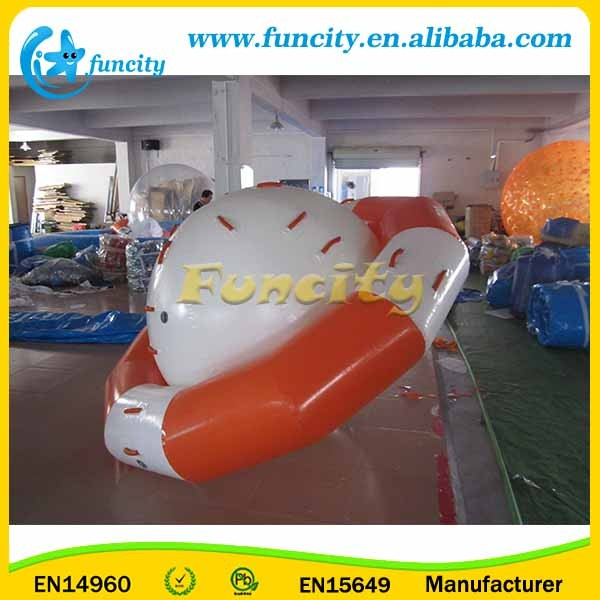 Customized Color Inflatable Saturn Rocker / Saturn Boat Toys