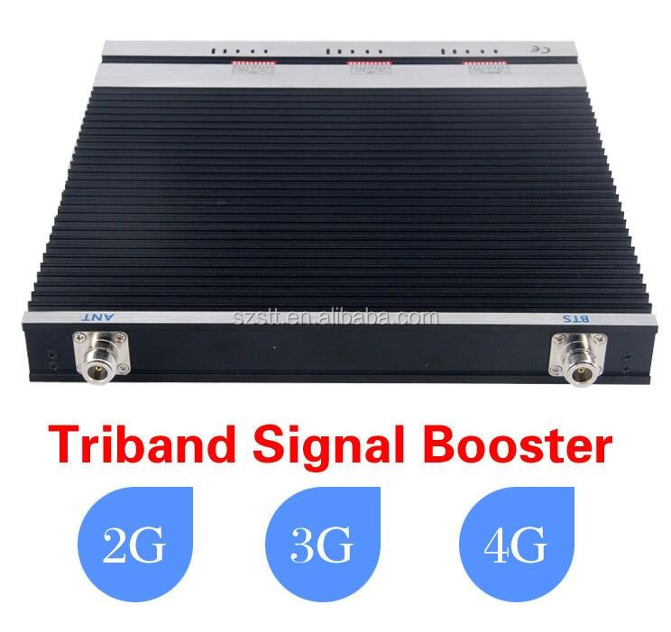Tri-Band kit Triband GSM 900 1800 and 3G 2100MHZ Mobile Signal Booster 4G Verizon Tri-Band System Kit