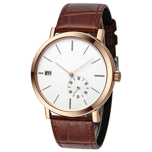 2017 top brand high quality OEM luxury casual custom watch