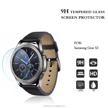 0.2mm tempered glass screen guard for samsung gear S3 high clear anti-scratch Protector