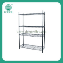 NSF 4-tier chrome wire shelving