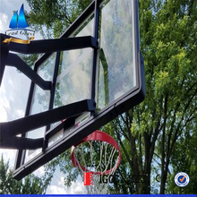 Tempered glass basketball backboard equipment