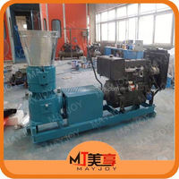 Wide application Chicken/Pig/Cow/Duck/Sheep feed pellet mill for farm use