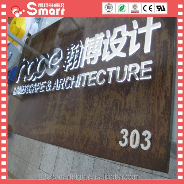 Hight Quality Standard China Sign Banner Board