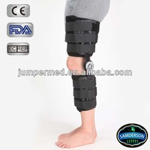 kn-603 Cool durable flexion and extension Knee and leg orthoses Post Operative ROM/dial hinged Knee brace/knee brace with hinge