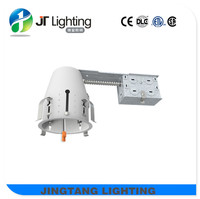ETL ic airtight led 4'' recessed lighting for remodel white paintings