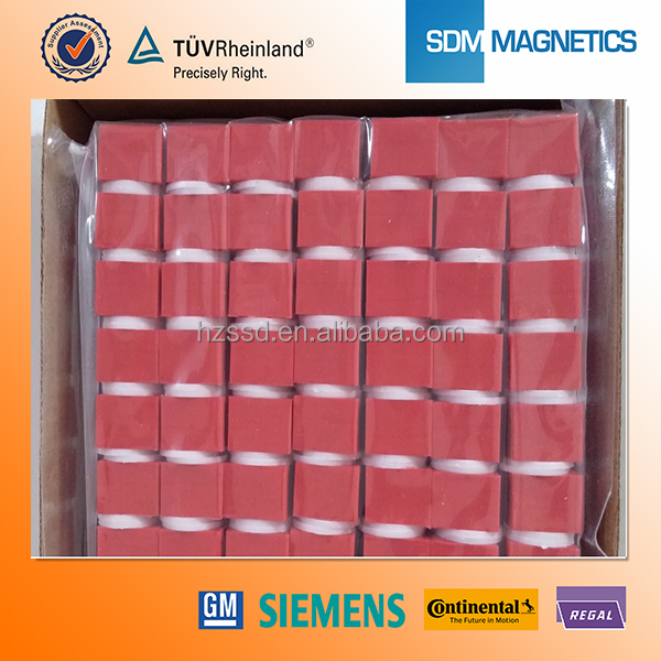 10 Years Experience Free Samples Rubber Coated Magnet