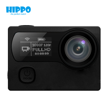 Action camera real 4K 2.4G remote Ultra HD 4K 30fps WiFi 1080P dual screen 2.0 +0.95 style 170D waterproof sport cam