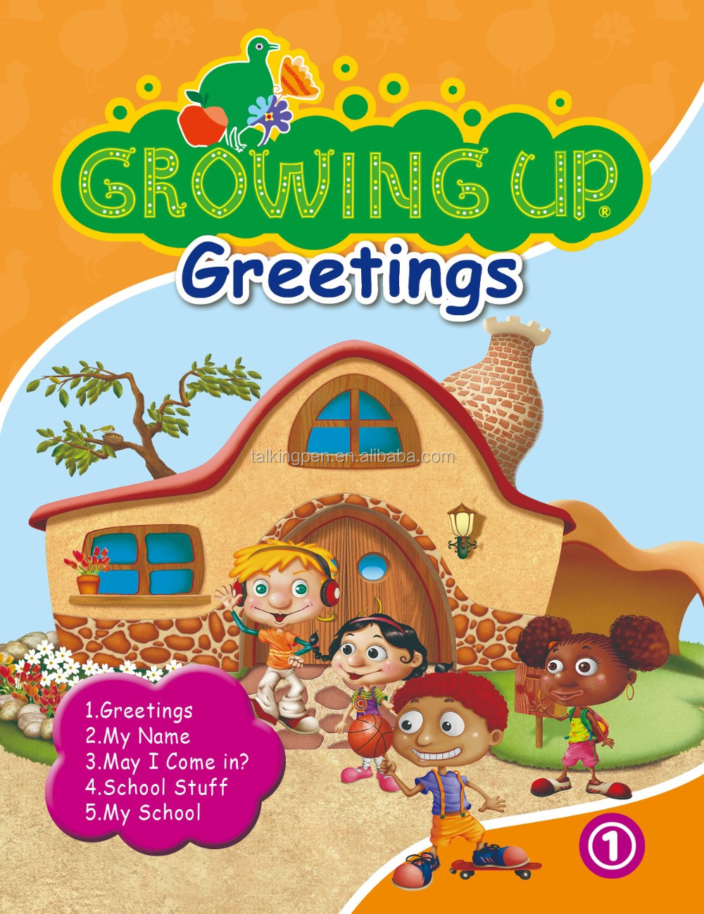 Kids Fun Point Reading Pen Children English Books Growing Up with Freebies