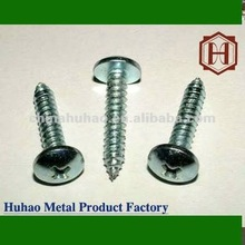 Wafer Head Self-Drilling Screw Galvanized truss/oval head button head drill screw manufacturer huhao tianjin wood screw for meta