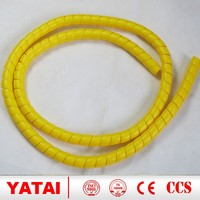 high quality custom plastic spiral guard /spiral hose protector for hydraulic hose