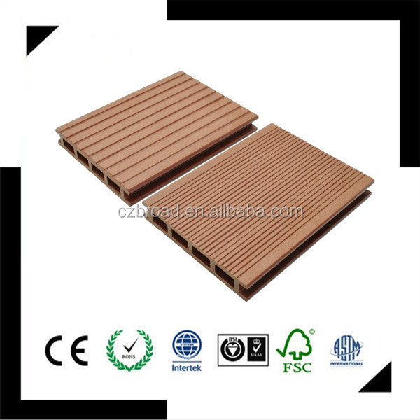 150*25mm new building material cheap floor tile,wpc decking composite