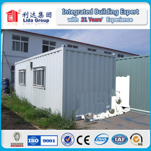 20ft shipping container house with EU standard plug