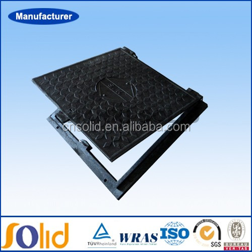 Epoxy coating DCI manhole cover en124 d400 made in china