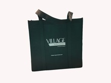 Fashion simple portable reusable pp non woven shopping bags