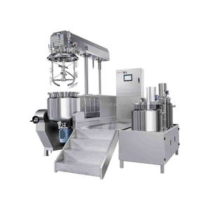 Hydraulic Lifting Vacuum Emulsifying Mixer for Food Processing