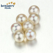 High quality freshwater pearl loose beads AAA size 8-9mm round shape white loose pearls