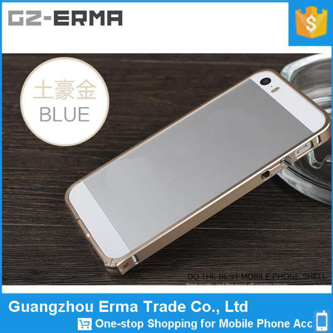 Ultra Slim Cooling Aluminum Bumper Mobile Phone Case for iPhone 5 5S