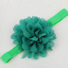 Baby Accessory Manufacturer Chiffon Flower Baby Headband