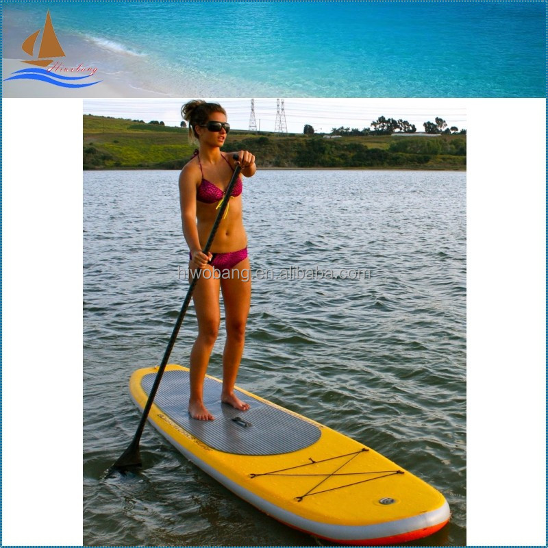 Cheap PVC inflatable surfboard