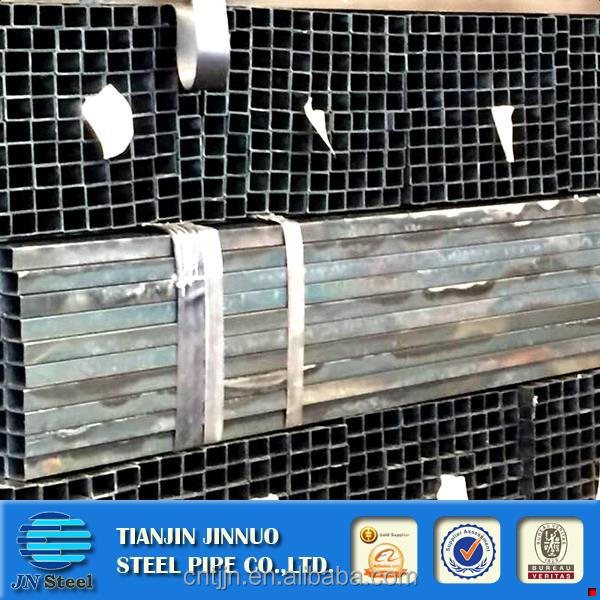 Free sample erw black square steel pipe/tube with export packing cold rolled hollow section annealing steel pipe