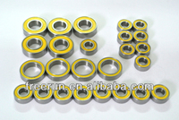 High Performance TRAXXAS E-MAXX 4WD 3906 RTR steel bearing kits with different rubber seal color