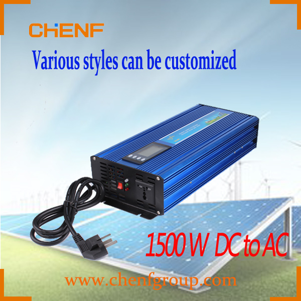 CHENF 1500W Simple and Durable Design solar power Pure Sine Wave single board Inverte With Charger