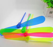 high quality led bamboo dragonfly Doraemon toys for kids