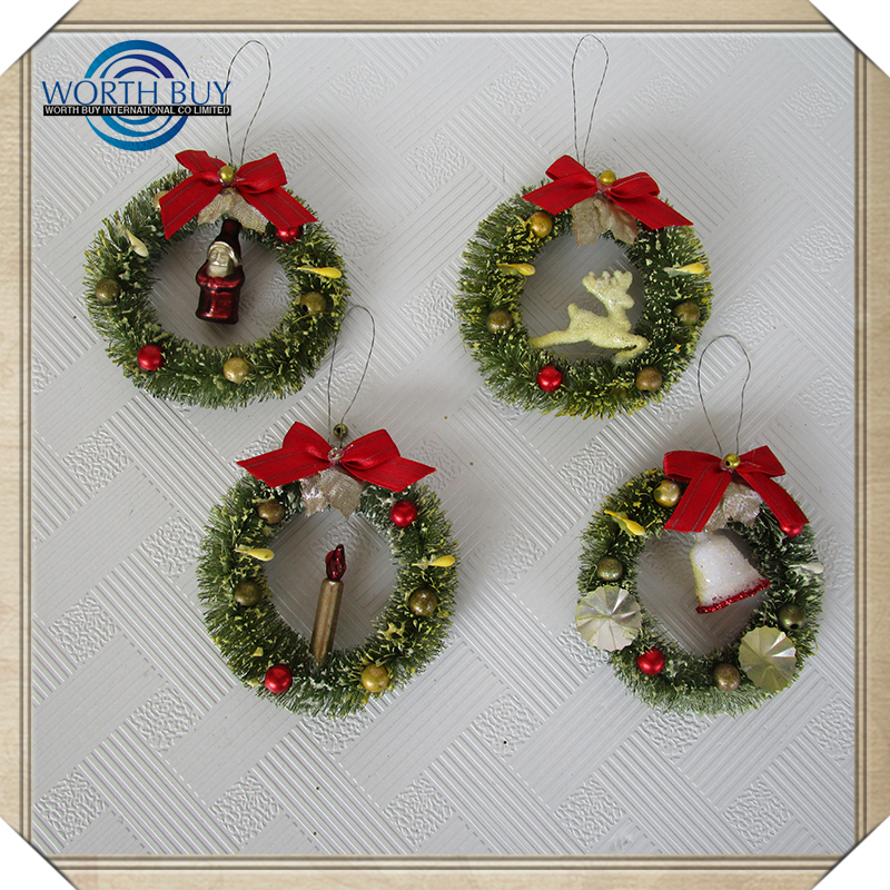 Cheap Wholesale Indoor Artificial Christmas Wreaths Undecorated