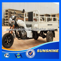 2013 New Attractive enclosed front load tricycle