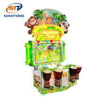 New arrival 2 players Tambourine tribe taking photos pat drum game machine for sale
