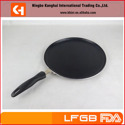 High Quality Aluminum Non-stick Frying Pan/PizzaPan/ Indian Tawa Pan With Powder Coating