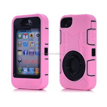 High quality defender armor case for iPhone 4, for iPhone 4S waterproof cover
