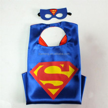 2017 China Ailbaba wholesale superhero cape and mask costumes for kids