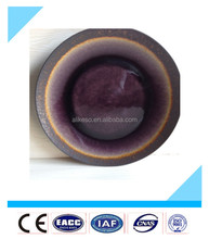 Directly factory supply 11'' black high quality cheap ceramic plate made in China