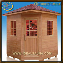 5-6 persons outdoor steam sauna room