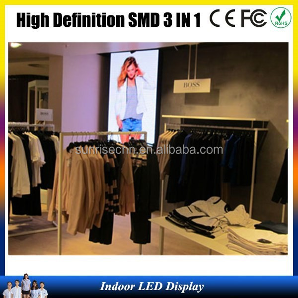 2014 P2 high resolution indoor LED display indoor SMD p4,p5,p6,p7.62,photo video led display board