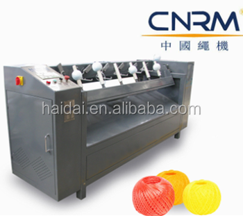 100g PP raffia Baler Twine Winding Ball Machine