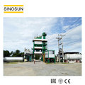 hot selling SINOSUN 40-320TPH hot mix asphalt batching plant, SAP120 China bitumen plant manufacturer