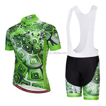 China made sublimated team specialized cycling jersey and bib shorts