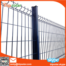 Double Swing Iron Mesh Fence Gate