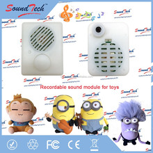 Sound module for plush toys, greeting card sound chip, pre-recorded sound module