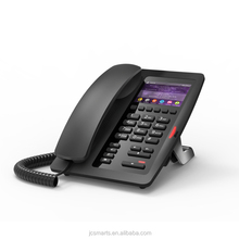 latest hotel SIP line HD Voice IP telephone desk phone with color display