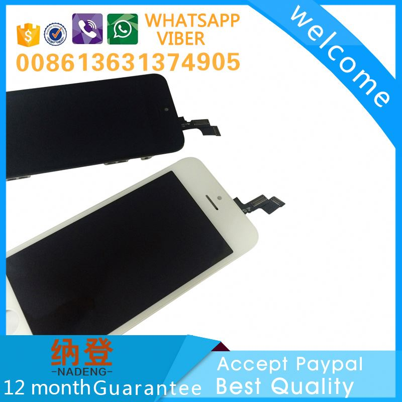 China manufacturer price repair shop items lcd digitizer touch screen for Apple iPhone 5S