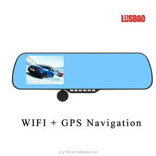 LUSBAO gps navigation wireless video camera in car CY-X5