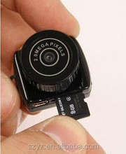 Y2000 720P HD Webcam Video Voice Recorder Micro Cam Smallest Camara Hidden Digital Mini Camera