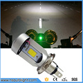 H4 Motorcycle Accessories 20W 2000LM HS1 led COB Moped Motorbike light cafe racer Headlamp 6500K White Yellow DC12V M4