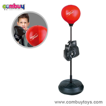 Hot selling kids indoor sport set game machine toy boxing ring